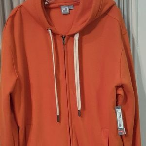 9d077f6c84ec4 Vintage Men s Puff Jacket w  removable sleeves.  20  100. JCP long sleeve  fleece orange sweater hoodie